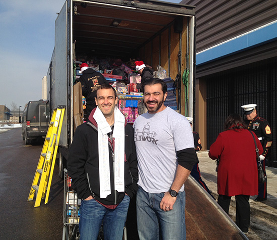 Bedros Keuilian and Craig Ballantyne - Toys for Tots
