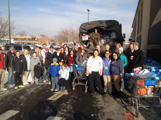 BioTrust team gives to Toys for Tots