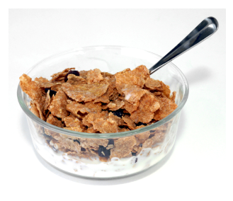 Raisin bran type cereal