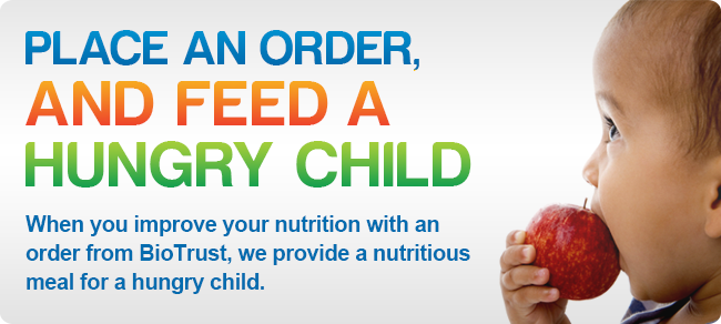 Place an Order, And Feed a Hungry Child